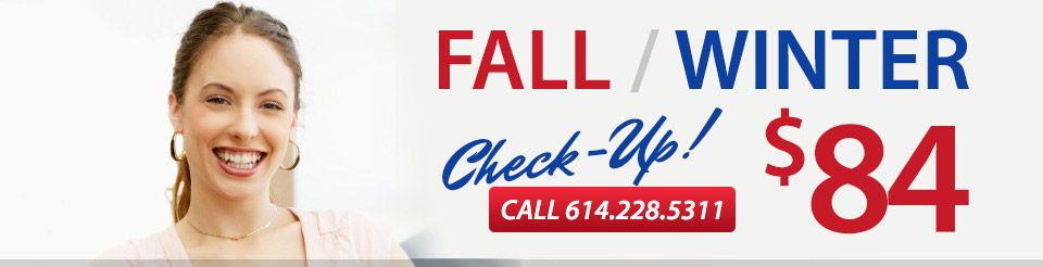 Fall / Winter Checkup $84